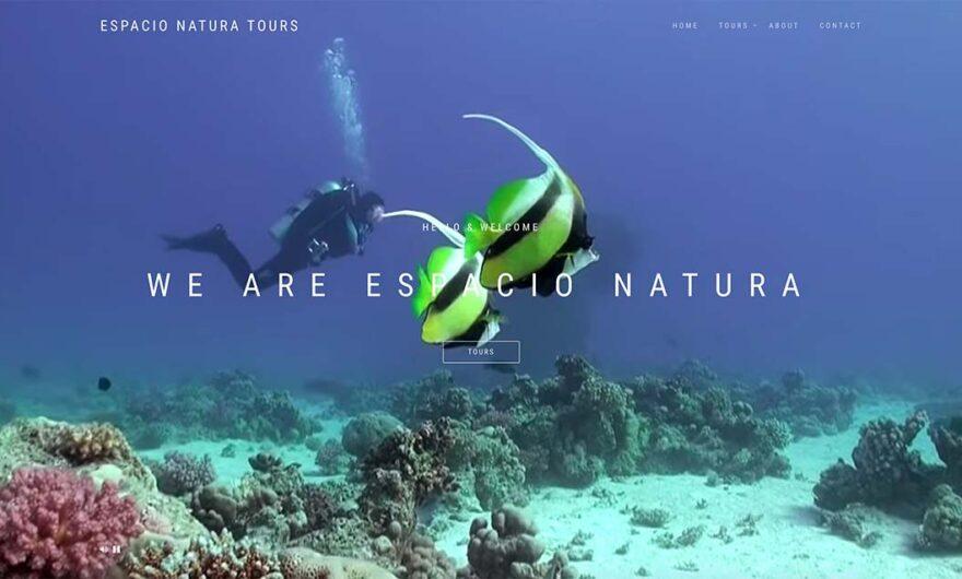 Página Web: Espacio Natura