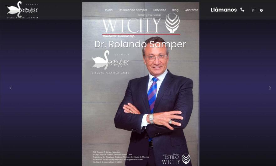 Cirujano Plástico Rolando Samper
